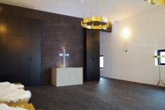 Toonitud marmor-lubikrohv ja naturaalne marmor-lubikrohv Palverändurite maja
