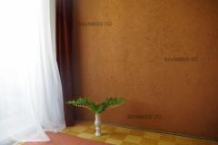 Magamistoa sein krohvitud punase savikrohviga