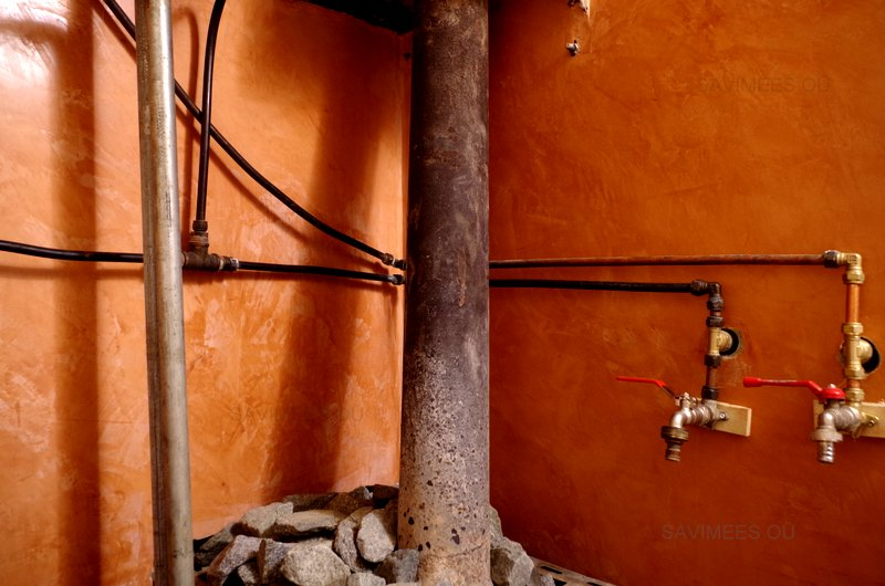 Stucco-lubipahtel-leiliruumis