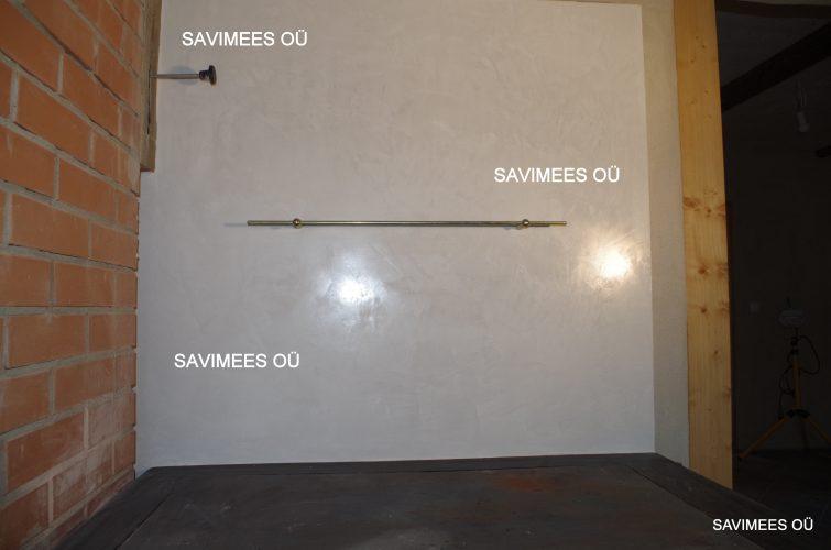 Stucco lubipahtliga viimistletud soojamüür