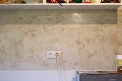 Stucco-lubipahtel-köögis