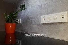 Kreidezeit Stuccolustro lubipahtel köögis