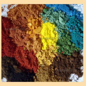 Värvi ja pahtlite toonimine pigmentidega 1